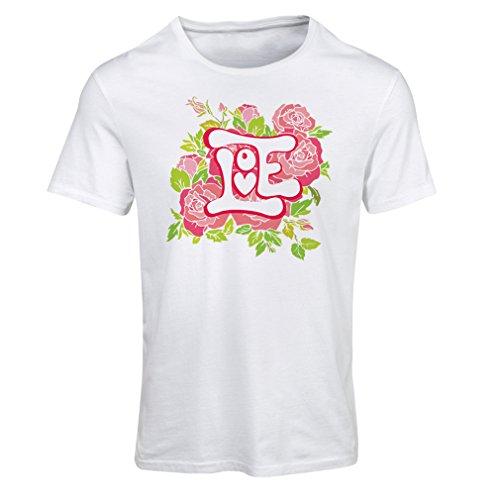 """Maglietta Donna """"Amami"""" GIORNO DI SAN VALENTINO Idee regalo Bianco Multicolore"""