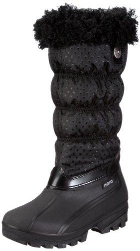 Nora Teresa 78212, Bottes femme Noir-TR-J1-30