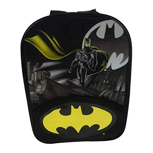 economico per lo sconto 6779f 5cb65 Batman Zainetto per bambini, nero (Nero) - BATMAN001027