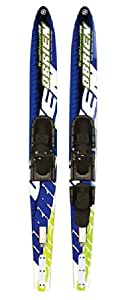 O'brien Men's Traditional Water Ski with 475 RT Binding - Multicoloured, 68 Inch