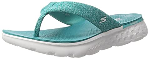 Skechers Damen On-the-Go 400-Vivacity Sandalen, Grün (Teal), 38