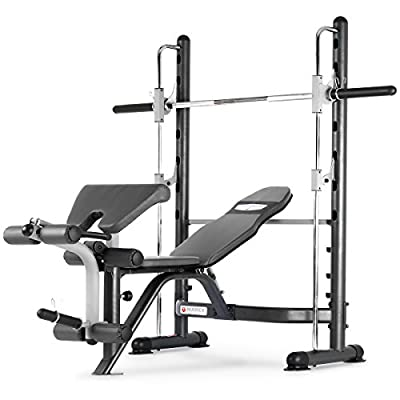 Marcy TSA-5762 Half Smith Machine and Weight Bench by Marcy