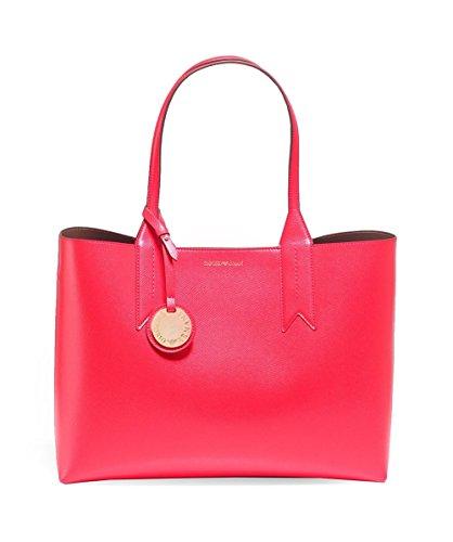 Emporio Armani Logo Shopping Donna Handbag Arancione