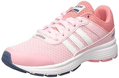 adidas Girls' Cloudfoam Vs City K Running Shoes Baby Pink