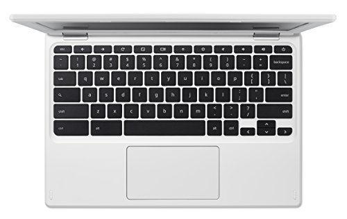 Acer Chromebook 11 11.6-Inch Notebook - (White) (Intel Celeron Processor, 2 GB RAM, 16 GB eMMC, Intel HD Graphics Graphics, Chrome OS)