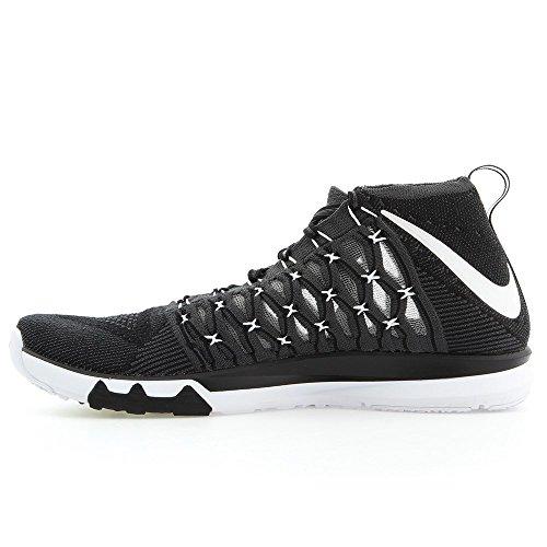 Nike Train Ultrafast Flyknit, Scarpe da Escursionismo Uomo Nero / bianco grigio-scuro