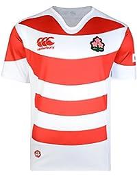 Canterbury Japon 2017/18 - Maillot de Rugby Pro Domicile - Blanc