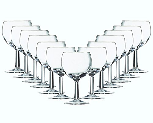 �ser-Set Serie Balloni 24 teilig | Füllmenge 190 ml | Weingläser Ballon ideal für Rotwein | Perfekter Weingenuss mit Freunden ()