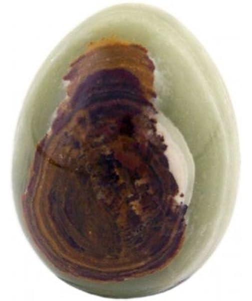 90 g. ca Ei aus Orangencalcit