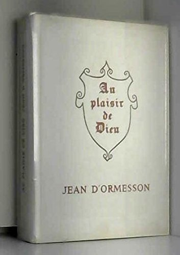 Au Plaisir De Dieu [Pdf/ePub] eBook
