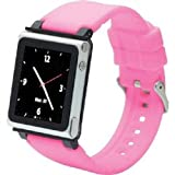 iWatchz Q Collection Armband für Apple iPod nano 6 pink