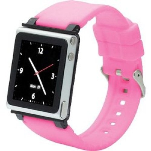 Ipod Nano 3. Armband (iWatchz Q Collection Armband für Apple iPod Nano 6 pink)