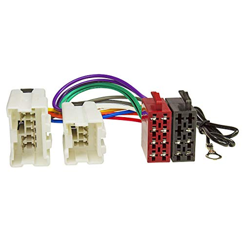 tomzz Audio 7038-002 Radio Adapter Kabel passend für Nissan X-Trail Micra Murano Navara 350Z Almera, Infiniti auf 16pol ISO Norm