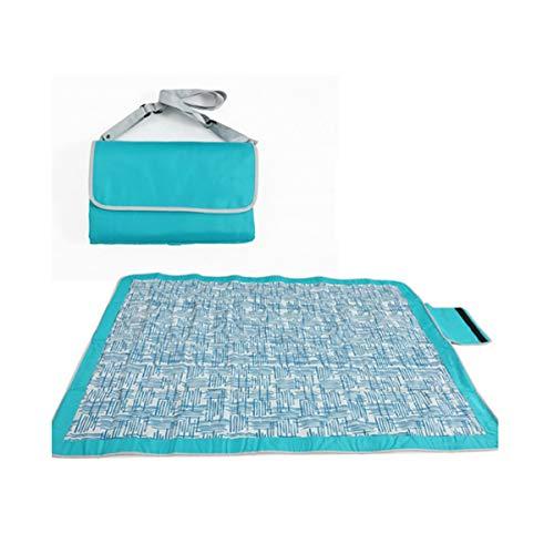 Hengtongtongxun tappetino da picnic lavabile in lavatrice con tessuto oxford, tappetino anti-umidità, tappetino da spiaggia per esterni doppio, tappetino da prato tenda, alta qualità la miglior qualit