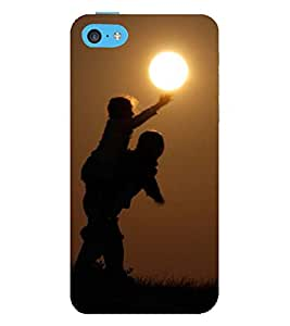 Vizagbeats boy touching sun Back Case Cover for Apple iPhone 4::Apple iPhone 4S