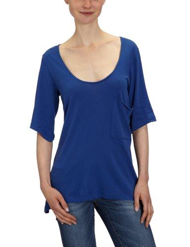 Bobi Damen T-Shirt 525-08060, Rundhals Violett (Electric)
