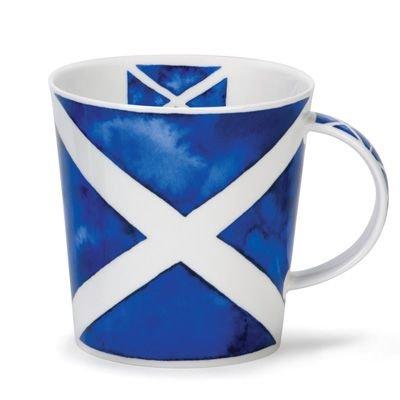 Taza de bandera de Escocia Saltire St Andrews–porcelana china Ca
