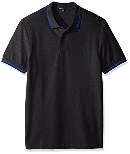 Fred Perry pour Homme Twin avec Pointe Polo - - Medium