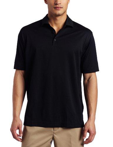 Herren Golf Polohemd Nike 2012 UV Tech Einfarbig Linker Ärmel Mit Logo - Schwarz - L Mädchen Tennis Kleidung Nike