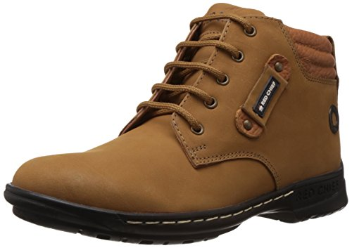 Redchief Men's Rust Leather Boots - 9 UK  (RC6011 022)