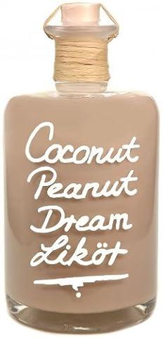 Coconut & Peanut Likör 1L Karibische Versuchung Kokos & Erdnuss 16% Vol