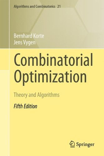 Combinatorial Optimization: Theory and Algorithms (Algorithms and Combinatorics) by Bernhard Korte (2012-01-13)