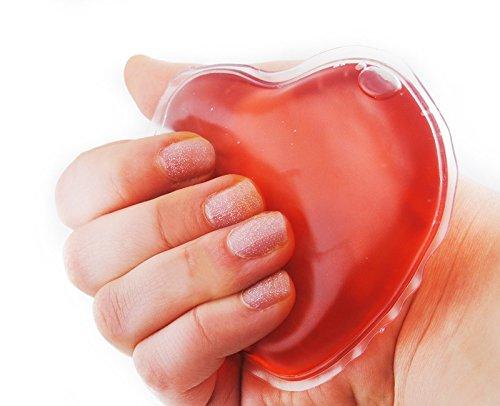 Handwärmer Taschenwärmer Fingerwärmer Wärmer Herz Heizkissen Gel Taschenofen #905