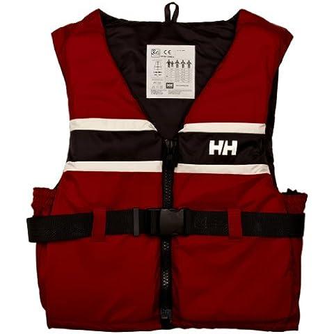 Helly Hansen Gilet di salvataggio Sport Comfort, Rosso (rot), 50/60 kg