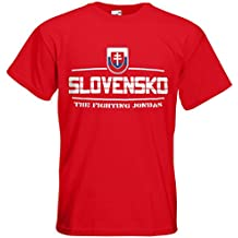 Slowakei Slovensko Fanshirt T-Shirt Länder-Shirt im modernen Look