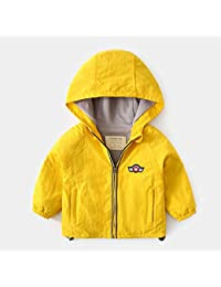 9ed67c0cb51b Mädchenjacke Guyuan Kinderkleidung Baby Jacke Winter Kinder Verdickung mit  Kapuze Shirt Jungen Winter warme Kleidung (Color…