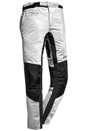 DANE FANO 2 Motorradhose Sommer Farbe hellgrau/schwarz, Größe 98