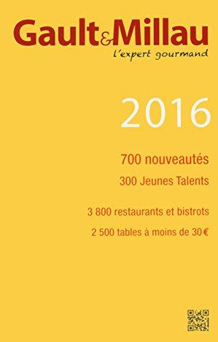 Guide France 2016 par Gault millau