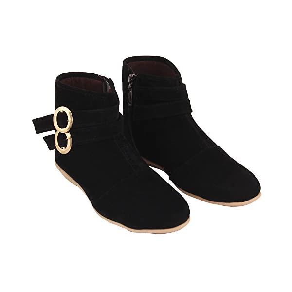 ABJ Fashion Boot-Double-Buckle Fashionable & Stylish Smart Casual Boots for Women