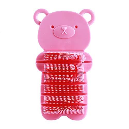 Preisvergleich Produktbild KYMLL Kids Hand und Nagelbürste Scrubbing Clean Brush Zweiseitige Reinigungsbürsten für Fingernagel