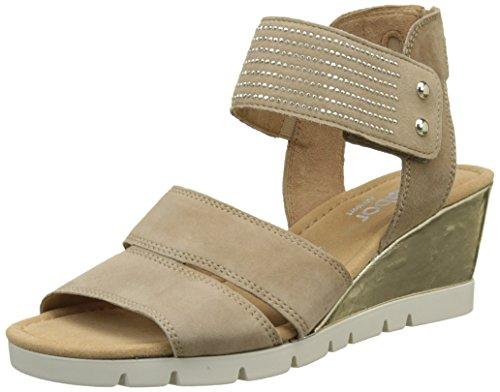 Gabor Shoes Damen Comfort Plateau, Braun (Walnut (Recr) 43), 42 EU