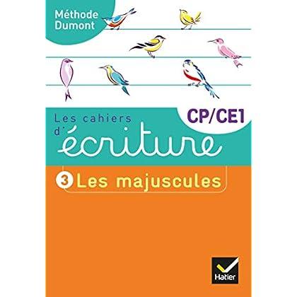 Les cahiers d'écriture CP-CE1 Éd. 2019 - Cahier nº 3 LES MAJUSCULES
