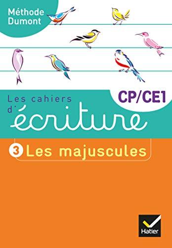 Les cahiers d'écriture CP-CE1 : Les majuscules