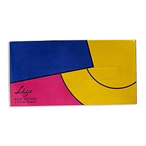 Lisa Facial Tissue Paper packet – 50 pulls – 100 sheets