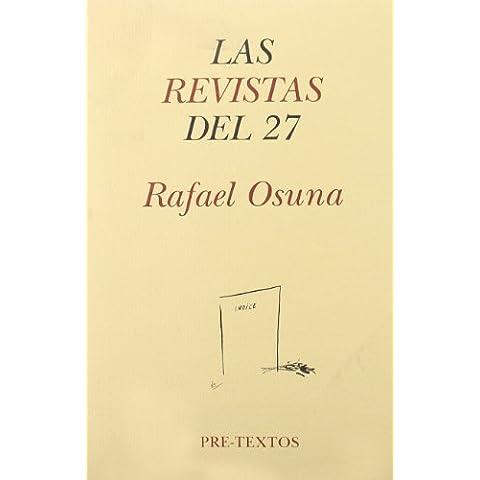 Las Revistas del 27: Litoral, Verso y Prosa, Carmen y Gallo (Hispánicas)