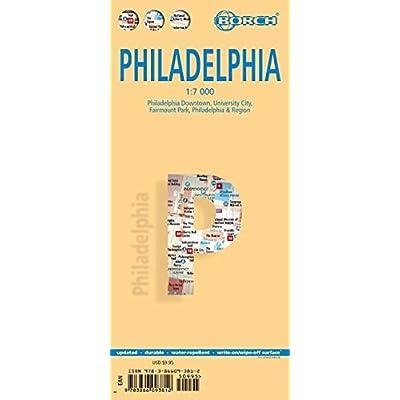 Mappa Borch Philadelphia 1:7 000