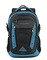 MULPAC High Sierra Large Backpack School Teens Backpack College Students Backpacks Laptop Computer Bags Up to 15.6 (Black and orange)
