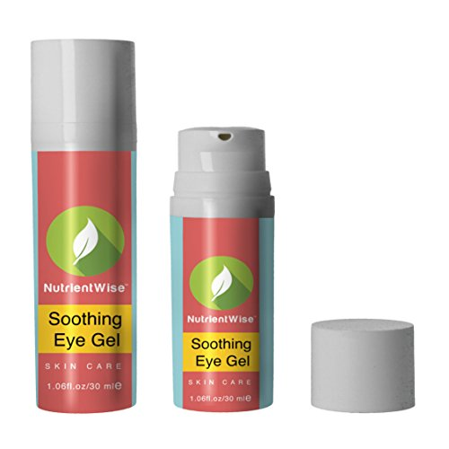 Nutrient Wise™ es El Mejor Gel para Ojeras Hinchazón Arrugas y Bolsas en los ojos. La Crema Más Efectiva y el Mejor Producto para Hidratar y Combatir la Edad Alrededor de los Ojos. El Suero de Aloe Vera Retinol Ayuda a Deshacerse de Cicatrices de Acne y Manchas.