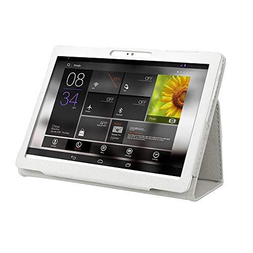 QinMM-Hülle für 10-Zoll-Android-Tablet, robuste, Kratzfeste, stoßfeste Flip-Stand-Lederschutzhülle