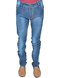 Leo Men's Blue Stretchable Slim Fit Jeans (J26)
