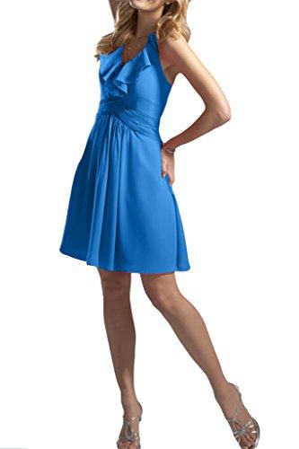Missdressy - Robe - Trapèze - Femme Bleu