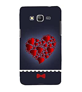 Hearts in Heart 3D Hard Polycarbonate Designer Back Case Cover for Samsung Galaxy Core Prime :: Samsung Galaxy Core Prime G360 :: Samsung Galaxy Core Prime Value Edition G361 :: Samsung Galaxy Win 2 Duos TV G360BT :: Samsung Galaxy Core Prime Duos