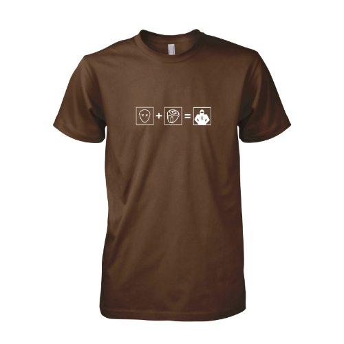 TEXLAB - TBBT: GL Transform - Herren T-Shirt Braun