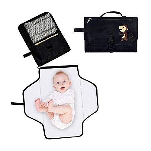 Locisne Tragbare Baby Windel Wickelauflage Waterproof Windel Clutch Bag Kit mit Lagerung für Reisen...