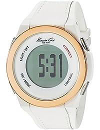 Kenneth Cole Mens connecter bracelet blanc numérique intelligent KC10023871