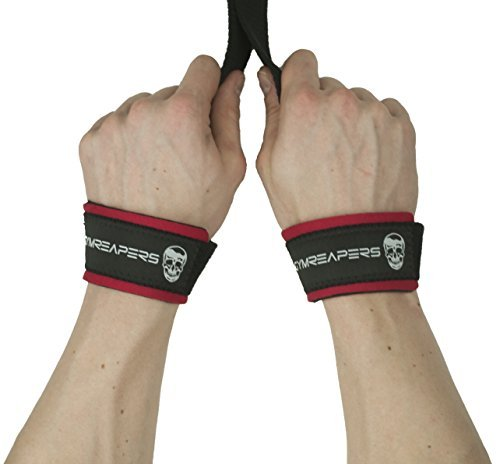 000856d91a Gymreapers Lifting Wrist Straps For Weightlifting, Bodybuilding,  Powerlifting, Strength Training, Deadlifts -